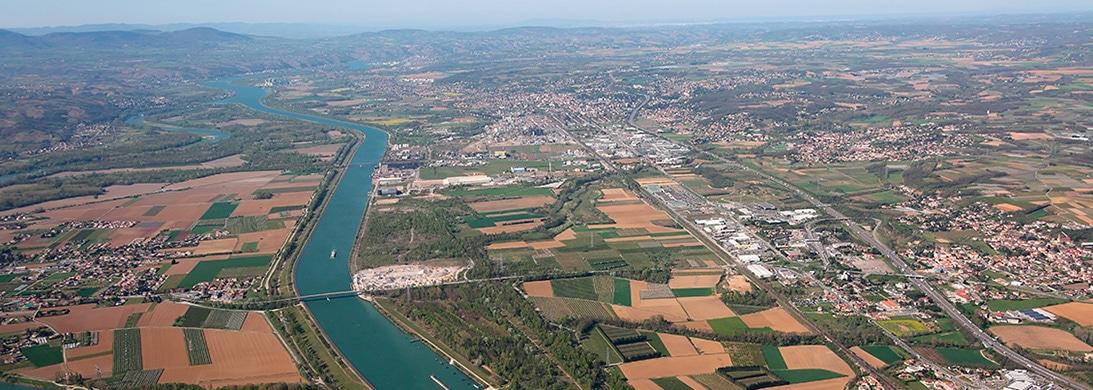 Zone Industrialo-Portuaire INSPIRA à Salaise et Sablons