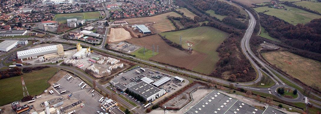 Parc d'activités de Chesnes, ZAC de Chesnes la Noirée, commune de Saint-Quentin-Fallavier