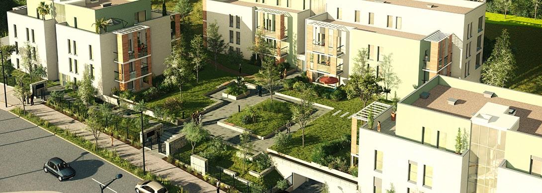 ZAC de l'Ecoquartier Champoulant à L'Isle-d'Abeau
