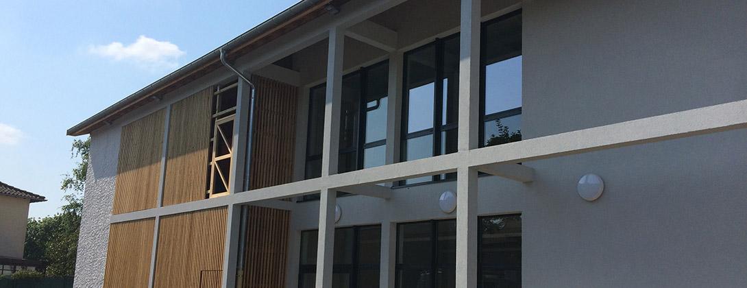 Construction d'un restaurant scolaire à Sérézin-de-la-Tour