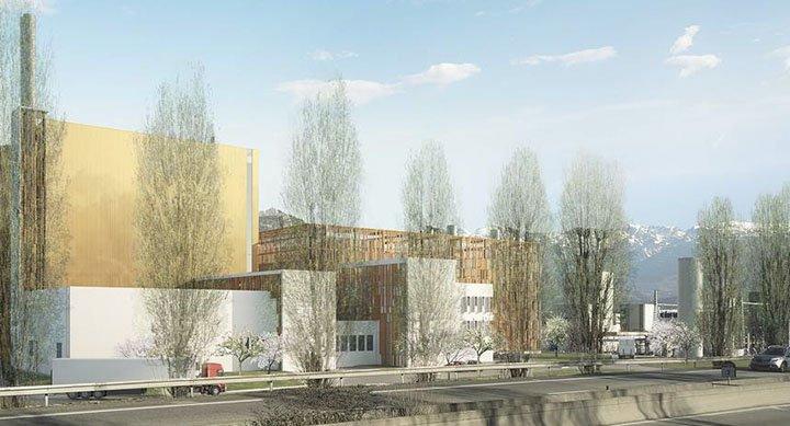 Nouvelle Unité de Production de chaleur (Biomax) surlaZAC «Presqu'île» à Grenoble