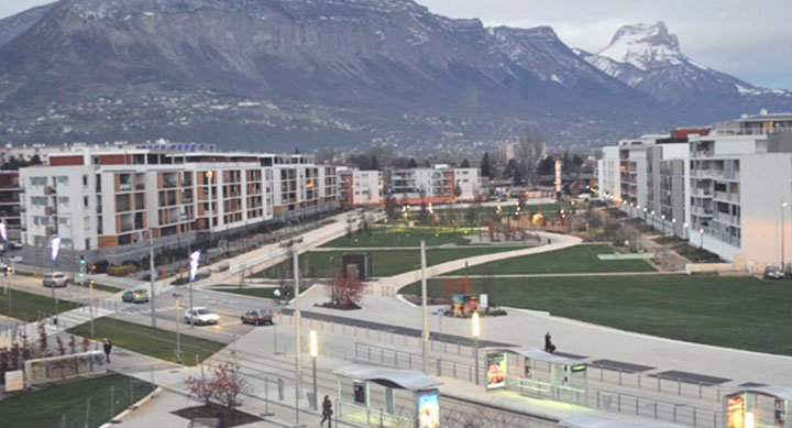 Zac Centre Saint Martin d'Hères