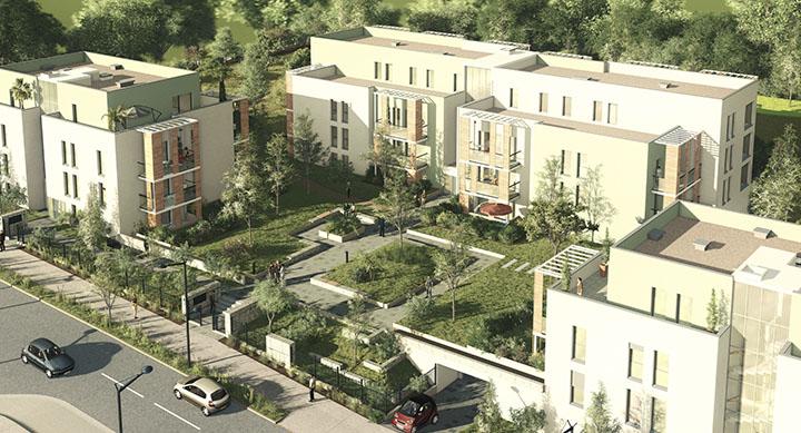 ZAC de  l'Ecoquartier Champoulant Commune de L'Isle-d'Abeau