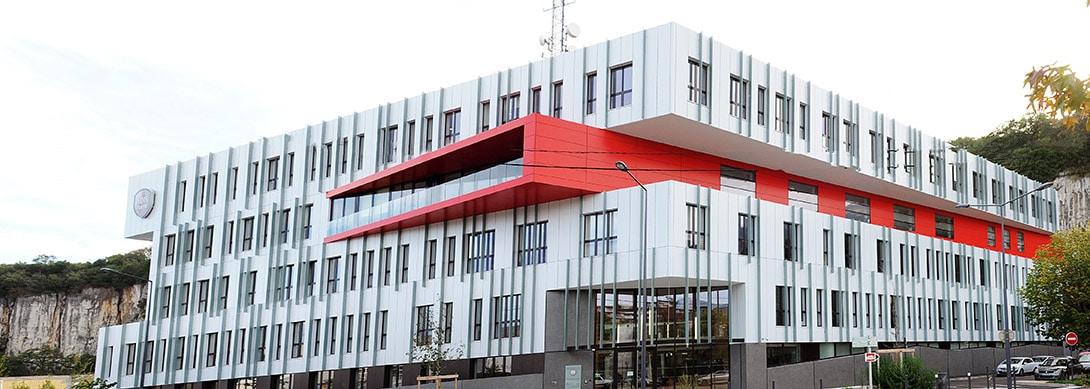 Construction du nouvel État-major du SDIS de l'Isère àFontaine