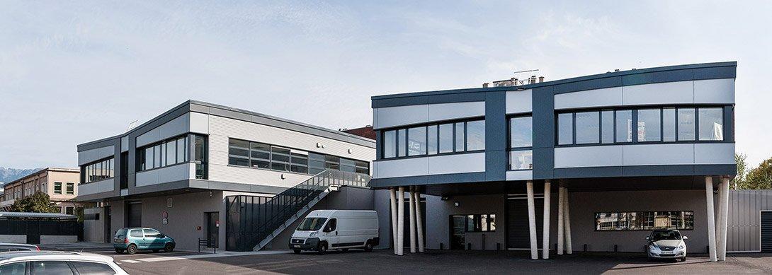 Construction d'un bâtiment tertiaire « ARTIS » à Grenoble
