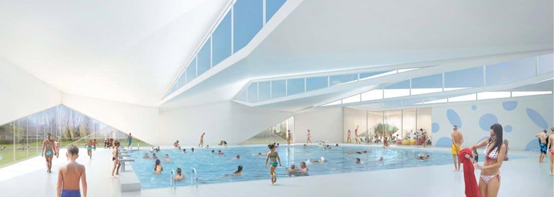 Construction d'une piscine intercommunale àBourgoin‑Jallieu