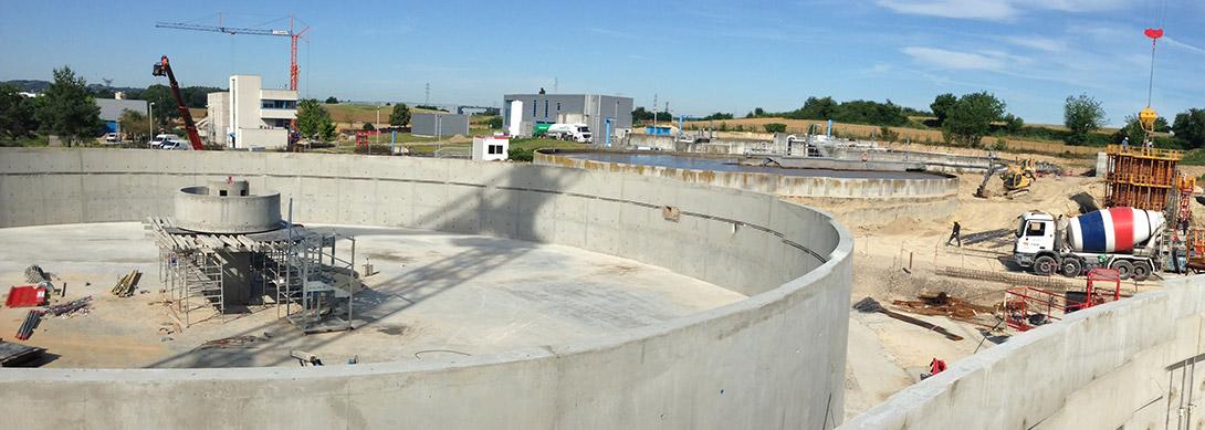 Extension de la station d'épuration de Traffeyère Commune de Saint-Quentin-Fallavier