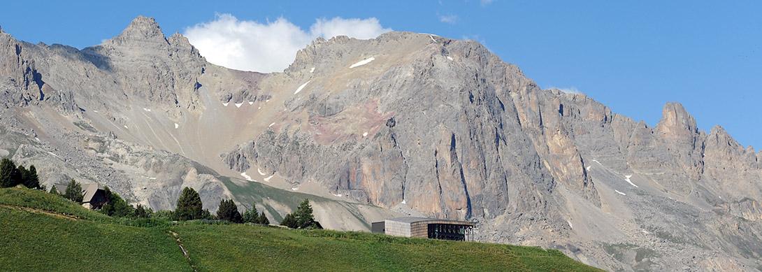 """Réalisation de """"La galerie de l'Alpe"""" au col du Lautaret"""