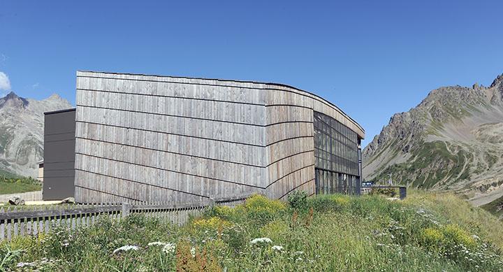 Réalisation de «La galerie de l'Alpe» au col du Lautaret