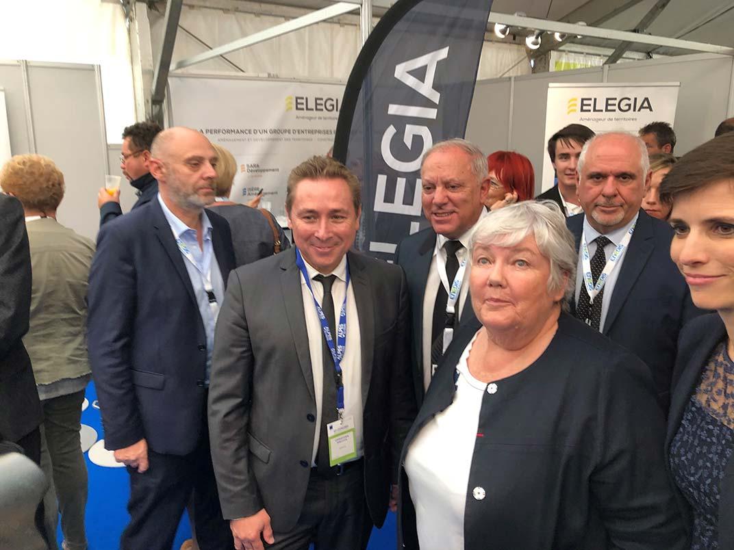 Participation d'ELEGIA au congrès des maires