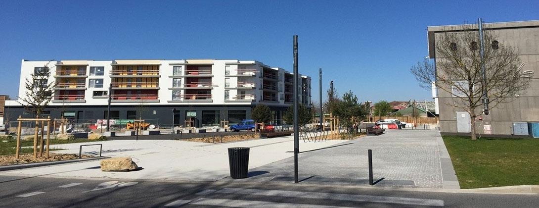 Projet de rénovation urbaine – Tranche1 Phase2 commune de Villefontaine