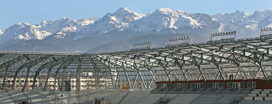 Stade des Alpes à Grenoble