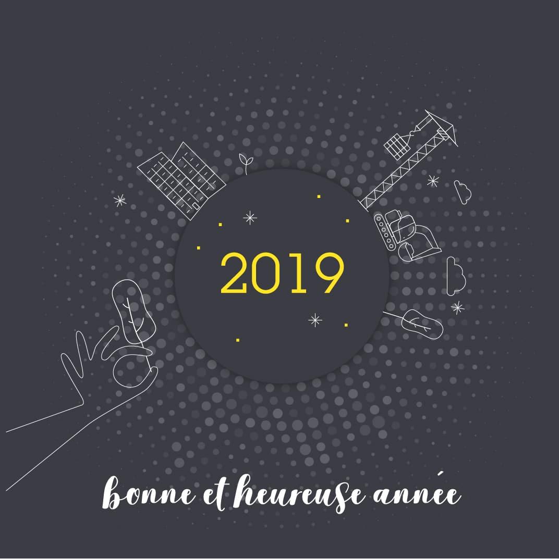Cérémonie des voeux 2019 - visuel