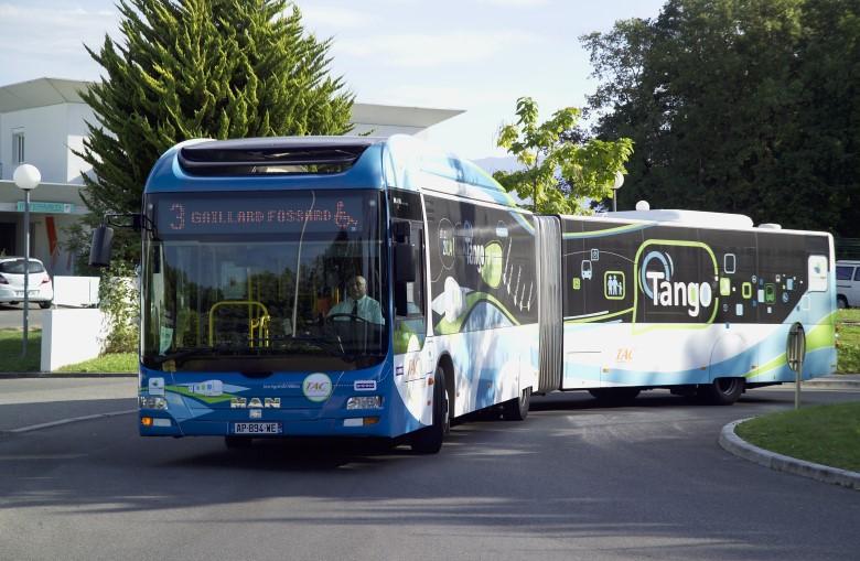 Création d'une ligne de Bus à Haut Niveau de Service (BHNS) – Annemasse (74)
