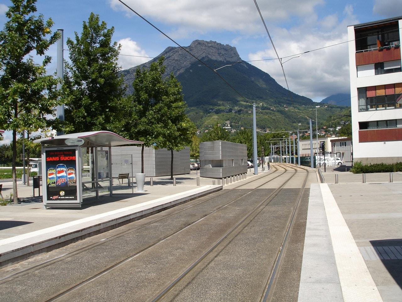 Extension de la ligne B sur la presqu'île de Grenoble
